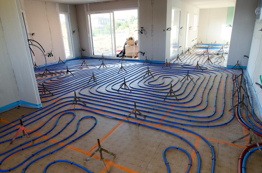 installer plancher chauffant
