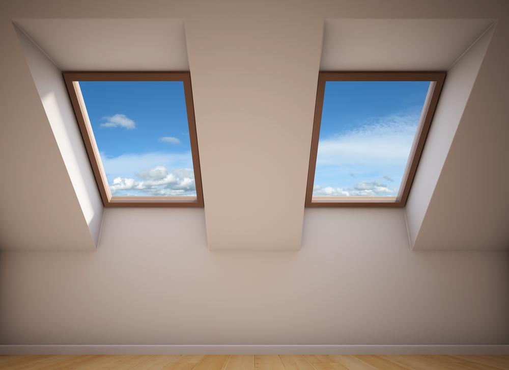 Double fenêtre de toit - Velux