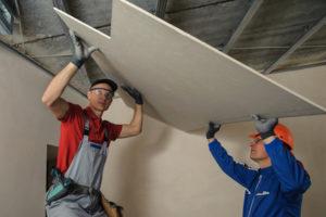 Comment faire un faux plafond