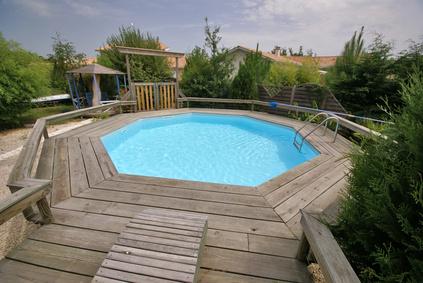 piscine bois 7x5