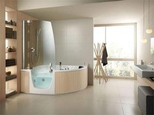 Prix d 39 installation d 39 une baignoire for Baignoire avec porte et douche