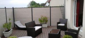 clôture composite prix