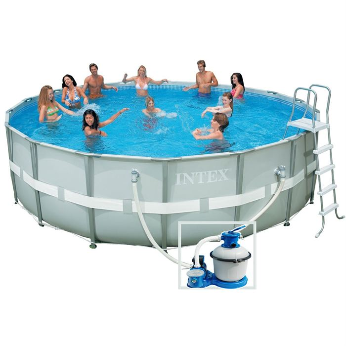 piscine autoportee intex