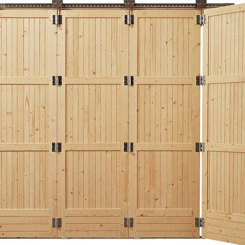 Quel type de porte coulissante de garage choisir - Porte accordeon sur mesure ...