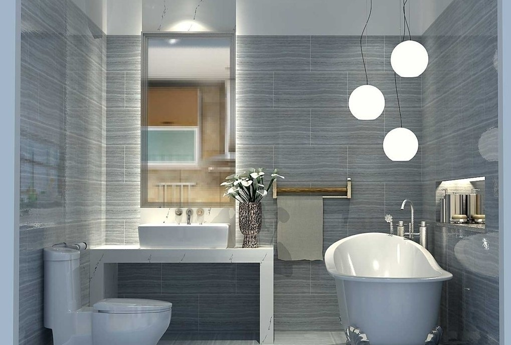Am nagement salle de bains les tendances du moment for Interior decoration of small bathroom