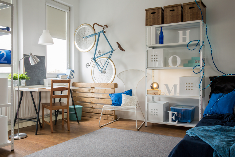 Studio moderne, style scandinave