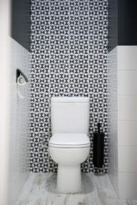 Installation WC salle de bain