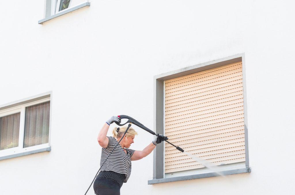 Nettoyage façade et volets