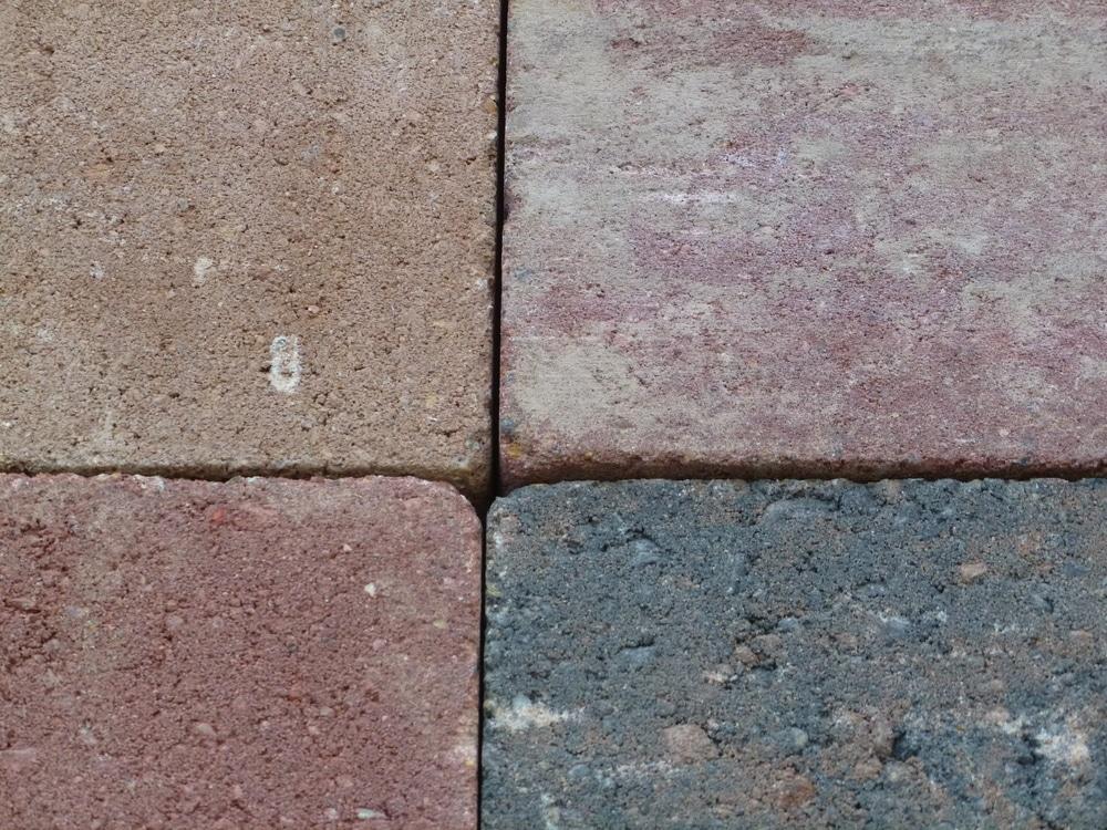 Pose de dalles extérieur