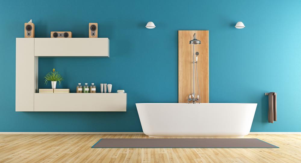 peintre salle de bain