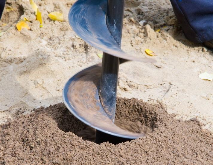 Forage pour étude de sol