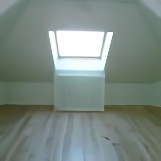Comble aménagé chambre velux