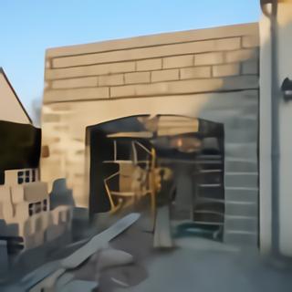 Linteau cintre en béton pour porte de garage