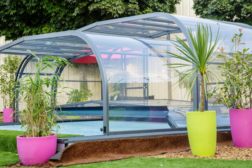 piscine couverte - type-téléscopique