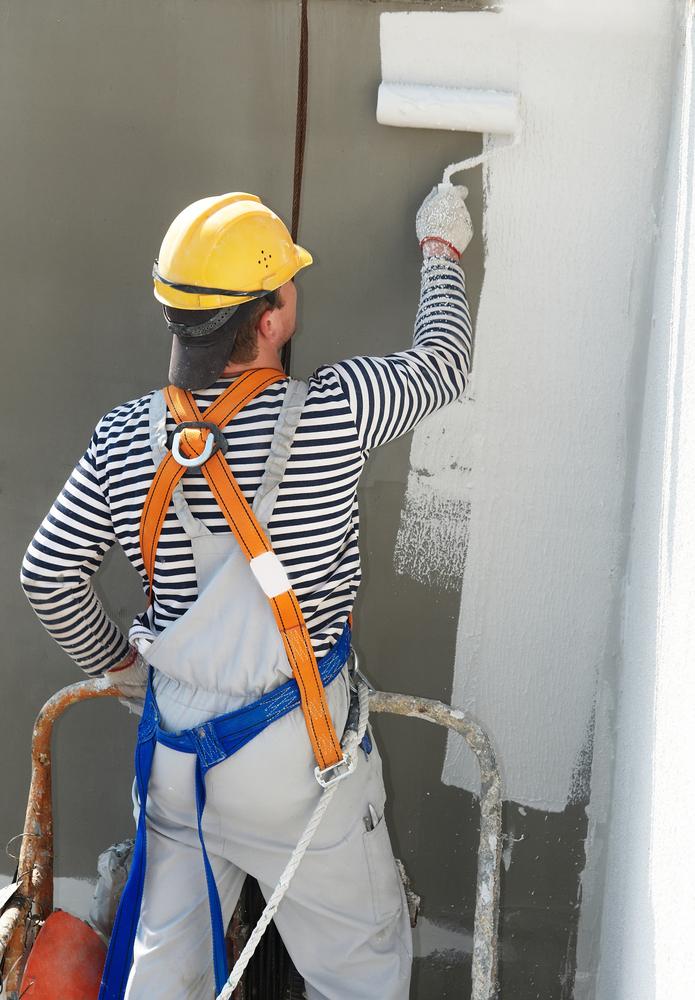 ouvrier peinture facade