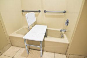 siège douche pour seniors et PRM