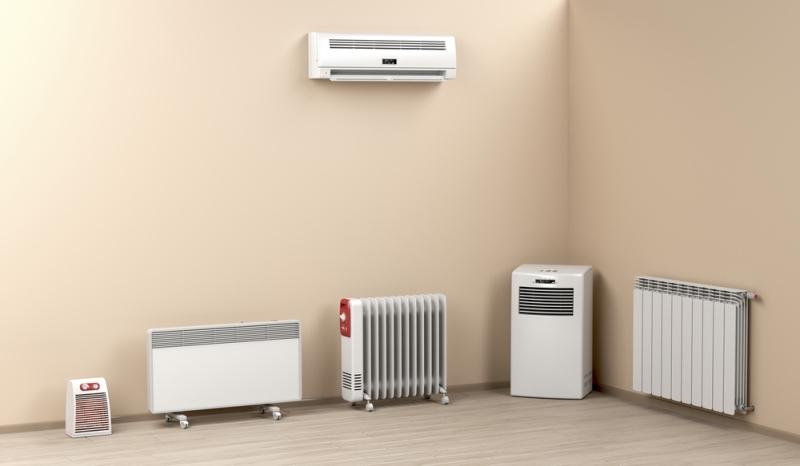 Différents types de chauffage électrique