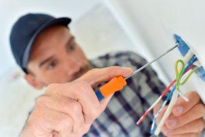 Installation électrique par un électricien