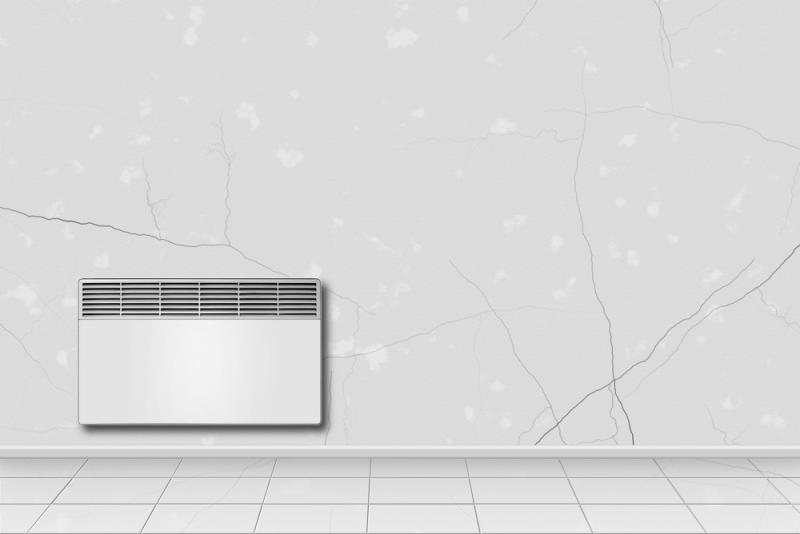 Pose d'un radiateur radiant convecteur