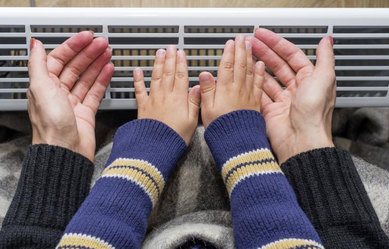 Se chauffer au radiateur électrique