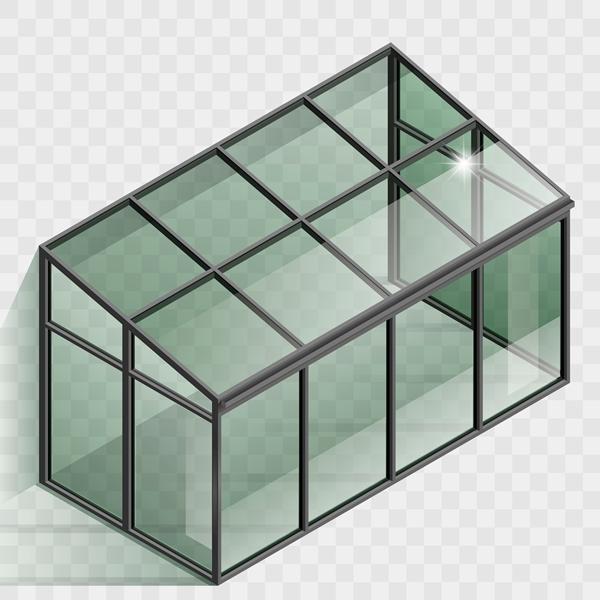 Structure d'une véranda en kit