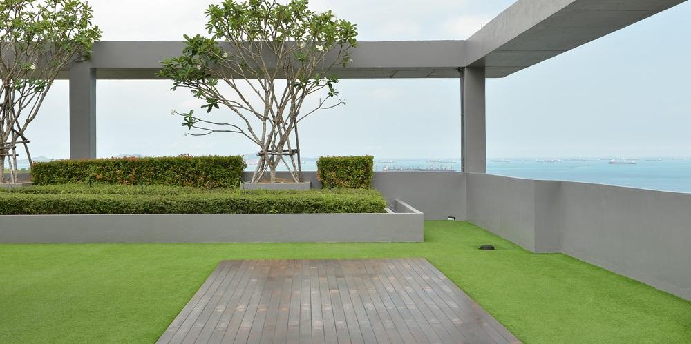 Jardin écologique minimaliste