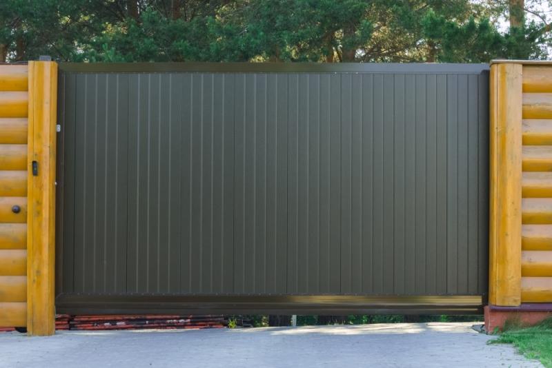 portail coulissant prix mod les et conseils de pro. Black Bedroom Furniture Sets. Home Design Ideas