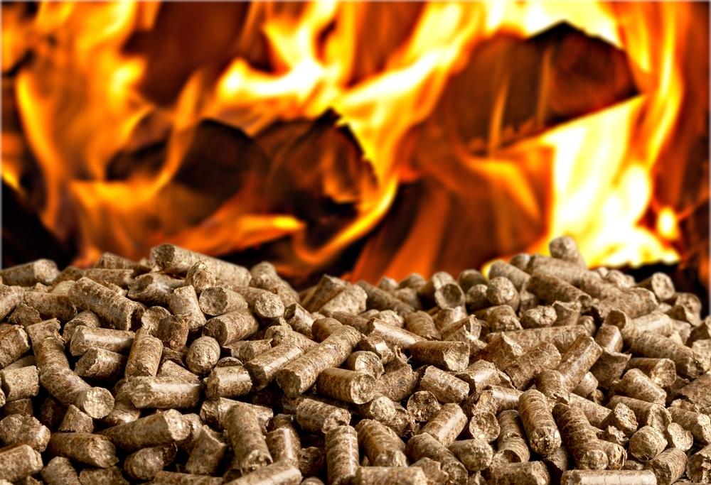 Bois de chauffage granulés