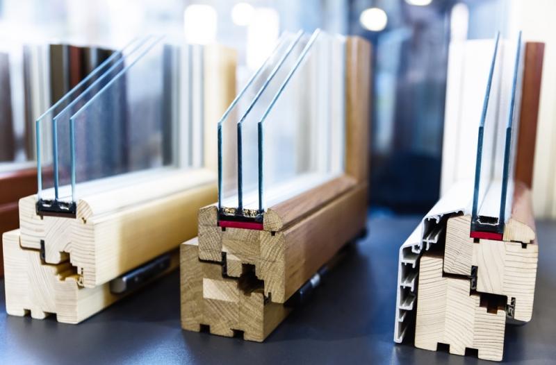 Différents modèles de vitre isolante