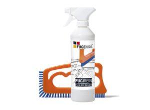 Brosse et spray anti-moisissures Fugenial