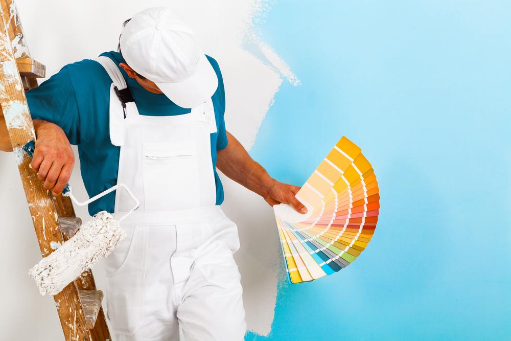 Choix d'une peinture murale par un pro