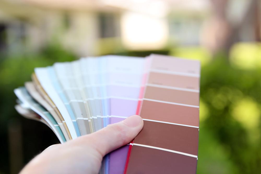 choix de couleur de mur extérieur