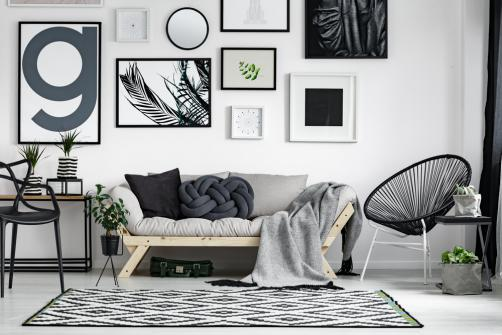 Decoration d'interieur style scandinave-urbain mixte