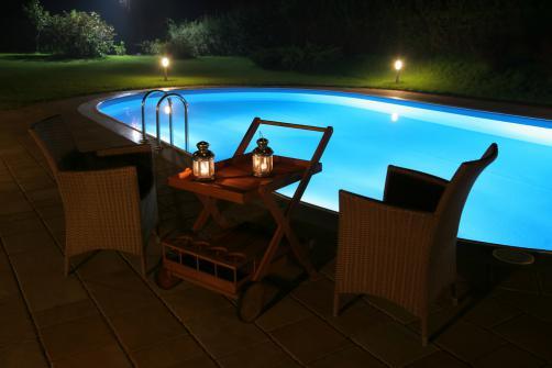 Eclairage piscine et patio