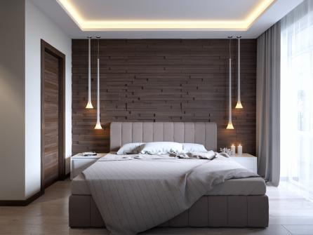 Lambris tete de lit chambre