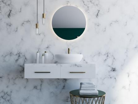 Meubles de salle de bain minimalistes