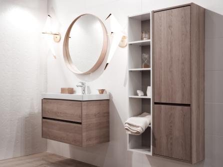Meubles de salle de bain : quel prix pour les fournitures et la pose ...
