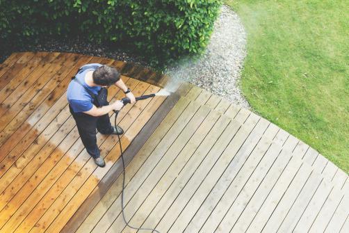 Nettoyage et entretien terrasse