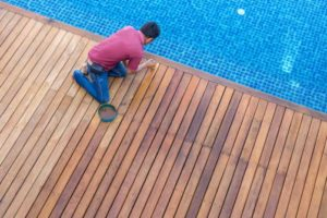 Renovation terrasse piscine
