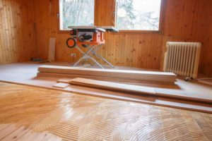 Travaux de renovation parquet