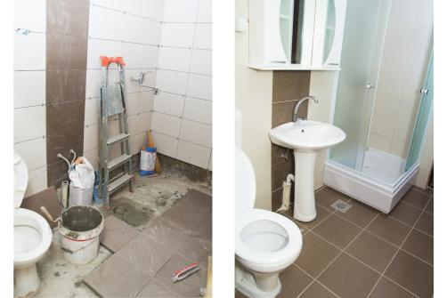Travaux d'installation - rénovation salle de bain
