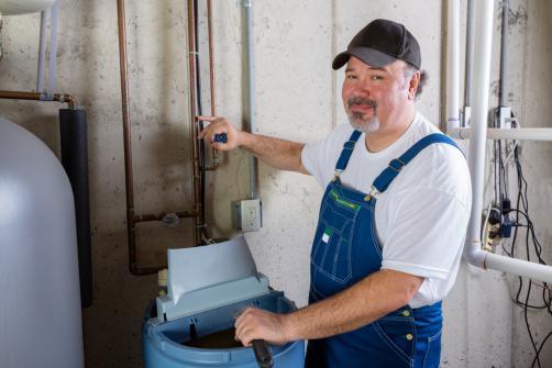 entretien adoucisseur d'eau