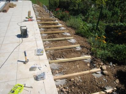Superbe Construire Une Terrasse En Bois : On Vous Montre Tout : 4 étapes    MonEquerre.fr
