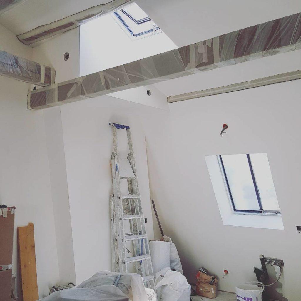 renovation sous combles paris