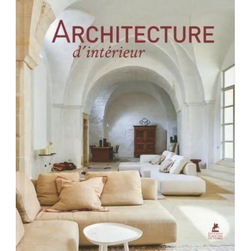 Livre - architecture d'intérieur