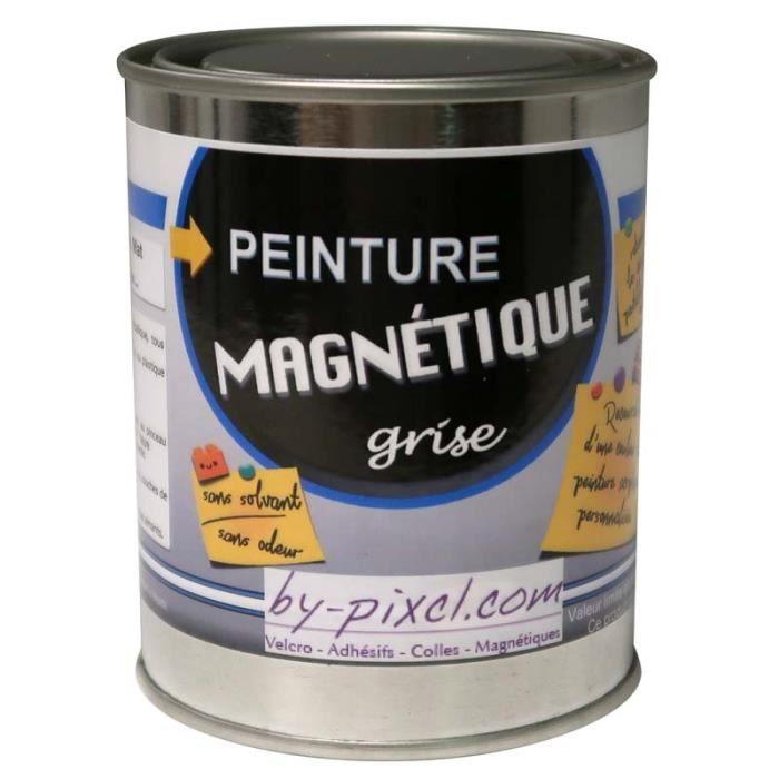 Peinture magnétique - Gris-bleu - Bidon de 250 ml