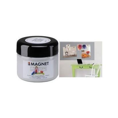 Peinture magnétique pot de 475 ml Grise
