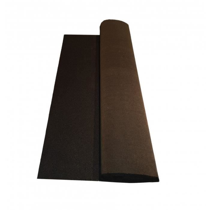 Rouleau de bardeau bitumé shingle 10 x 1 m - L: 10 m - l: 1 m - Gris anthracite