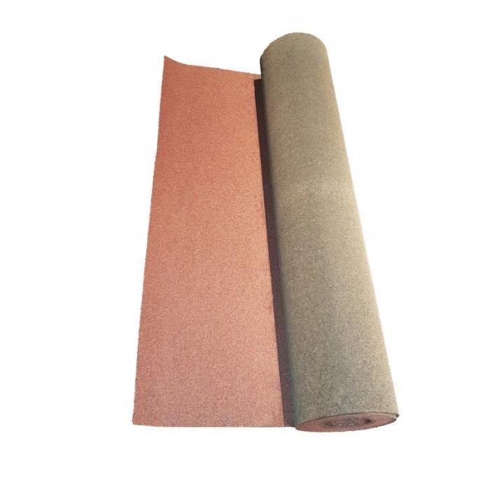 Rouleau de bardeau bitumé shingle 10 x 1 m - L: 10 m - l: 1 m - Rouge