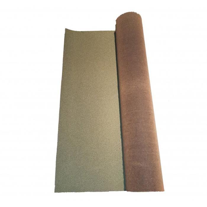 Rouleau de bardeau bitumé shingle 10 x 1 m - L: 10 m - l: 1 m - Vert